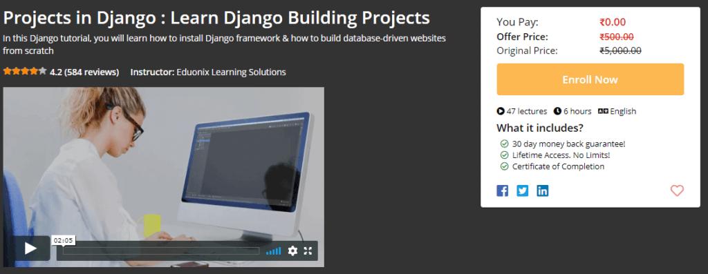 Best Way to Learn Python - Web Development with Django