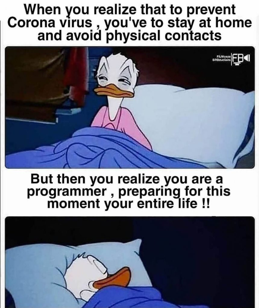 Coding Memes - Corona Virus