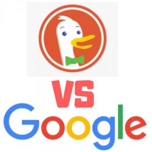 DuckDuckGo vs Google Comparison