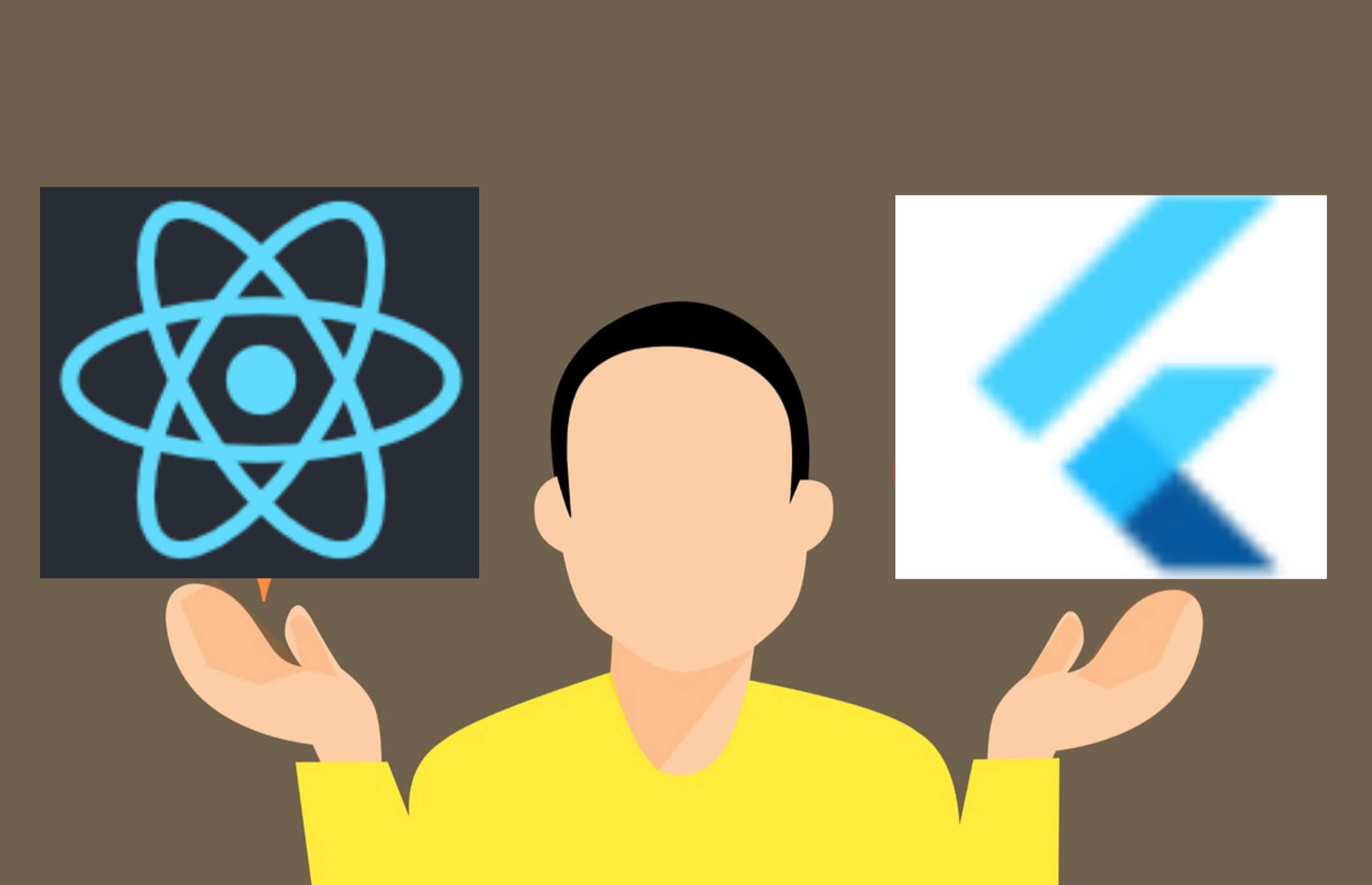 Read more about the article Flutter vs React Native: Which one is best for Mobile App Development?