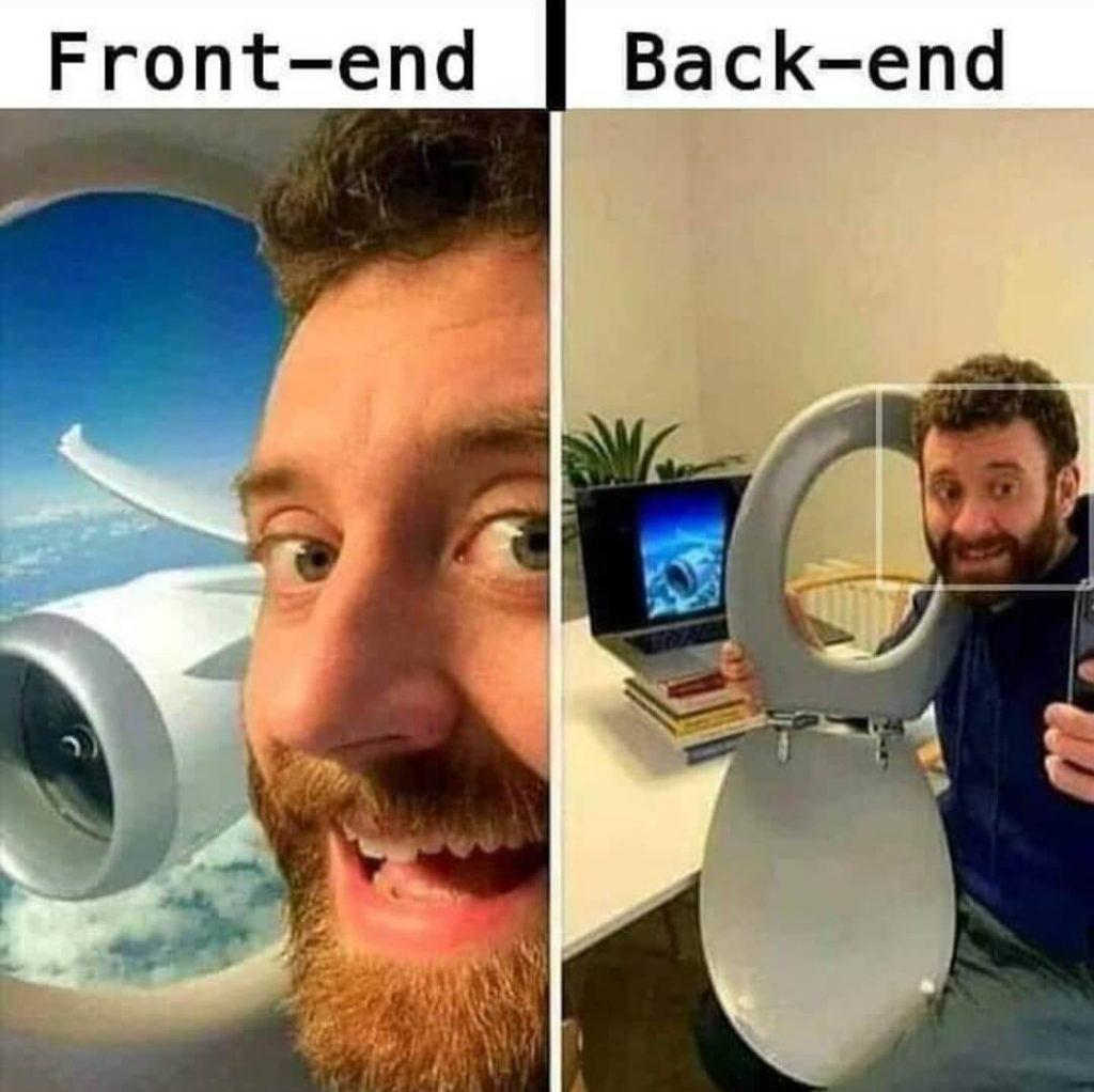 Front End vs Back End