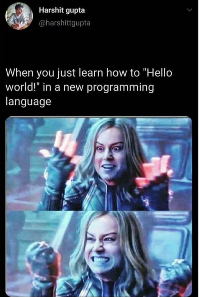 Hello World Jokes