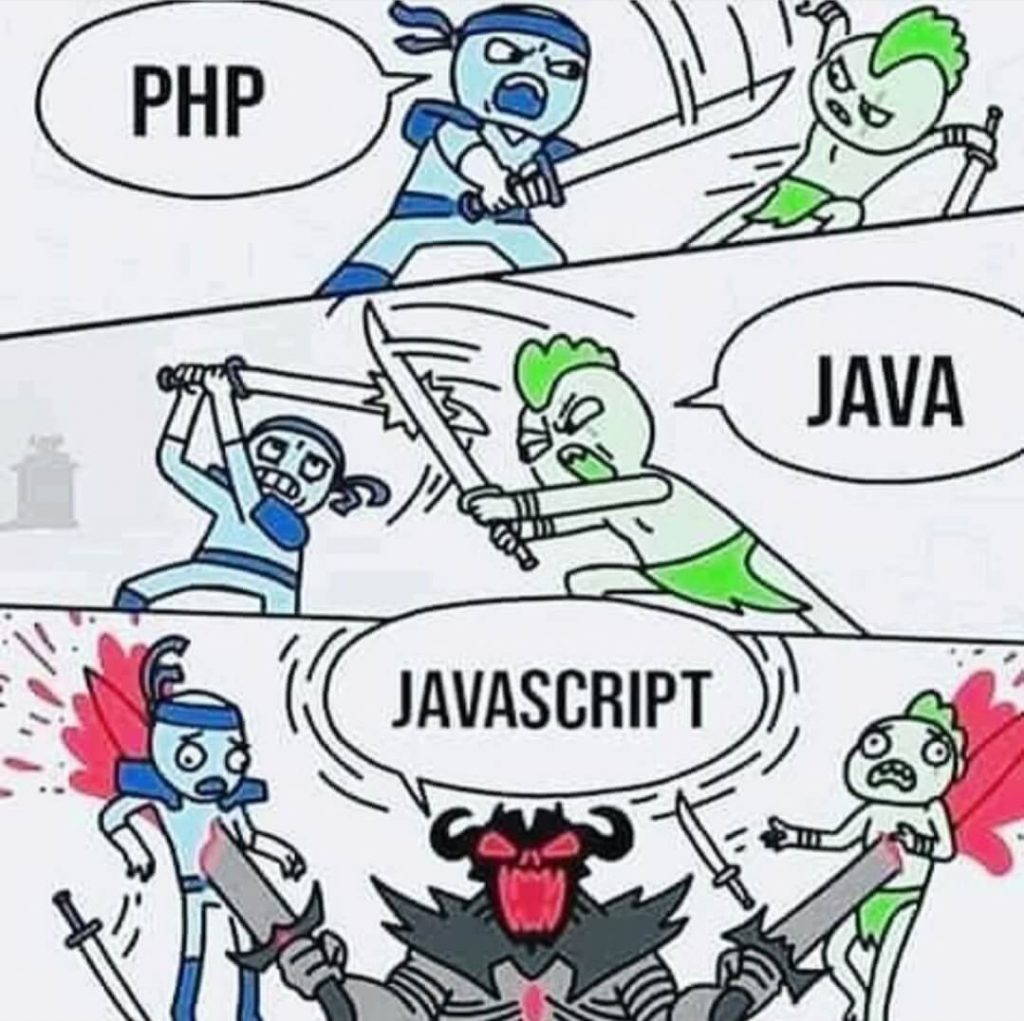 PHP vs Java vs JavaScript