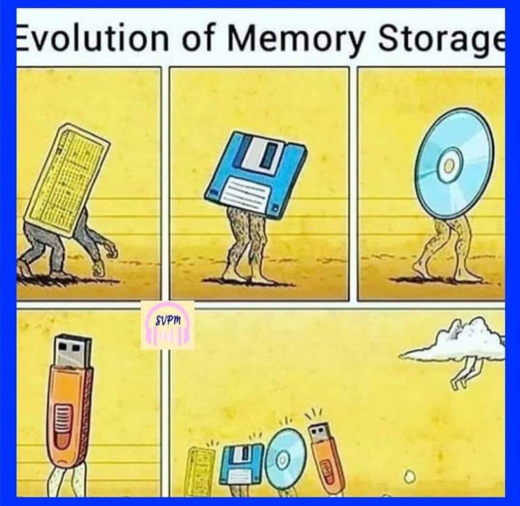 Programming Memes - Evolution of Memory Storage