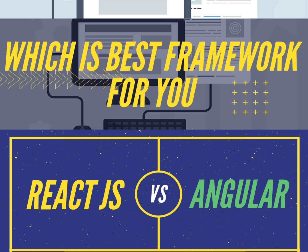 React vs Angular : Which One is Best for Your App in 2021