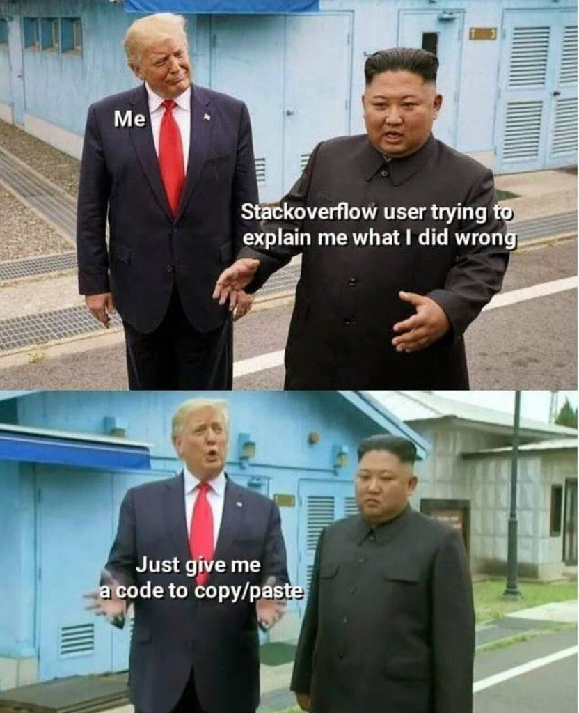 StackOverFlow Jokes