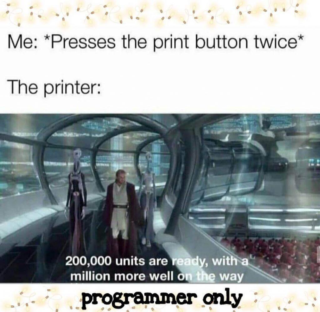 Technology Memes - Printer