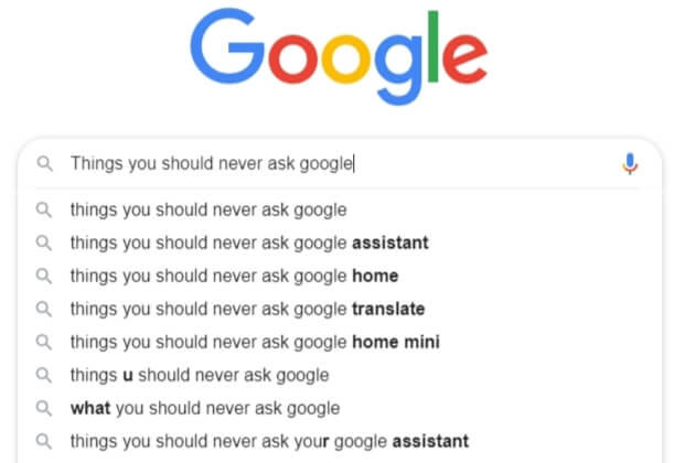 Things You Should Never Google