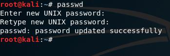 passwd command