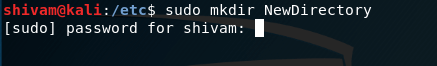 sudo command