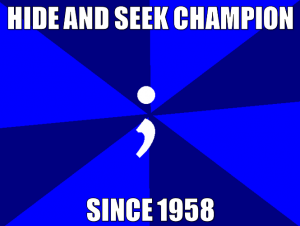 Missing Semicolon
