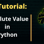 How to calculate Absolute Value in Python with abs() Function