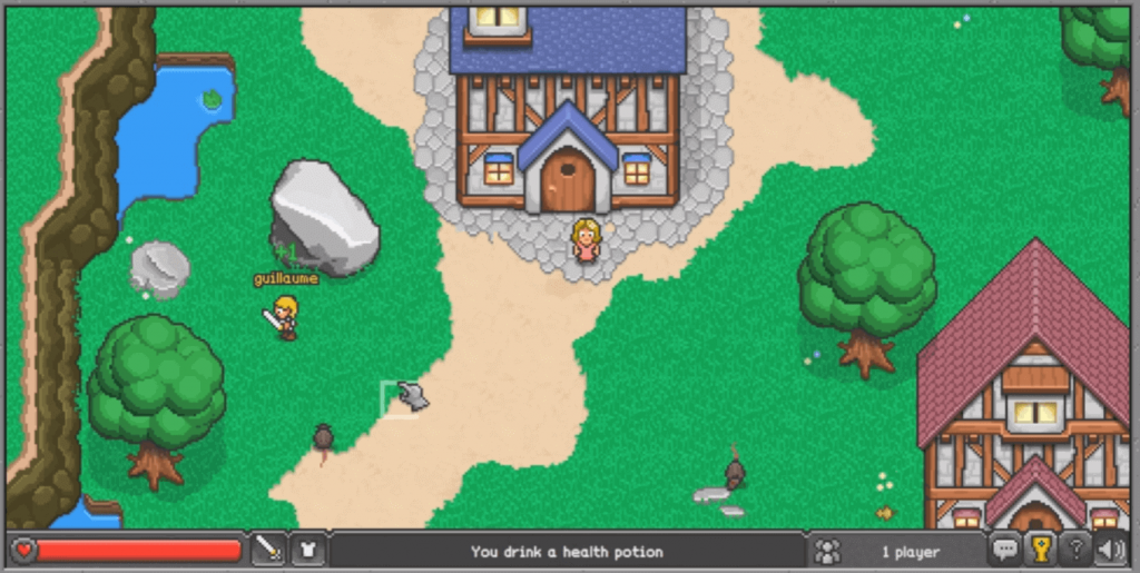 Browser Quest - HTML Games with Source Code