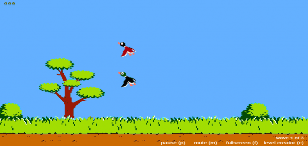 Duck Hunt - HTML Games with Source Code